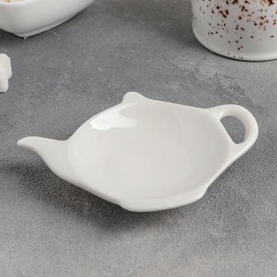 Подставка под чайный пакетик «Классика», 12,5×8,5 см - Фото 1