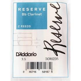 Трости DCR0245 Reserve для кларнета Bb, размер 4.5, 2шт.