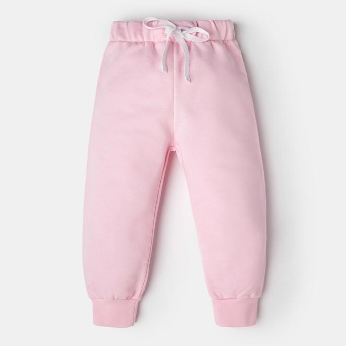 """Штанишки Крошка Я """"Любимая малышка"""", розовый, 24 р, 68-74 см"""