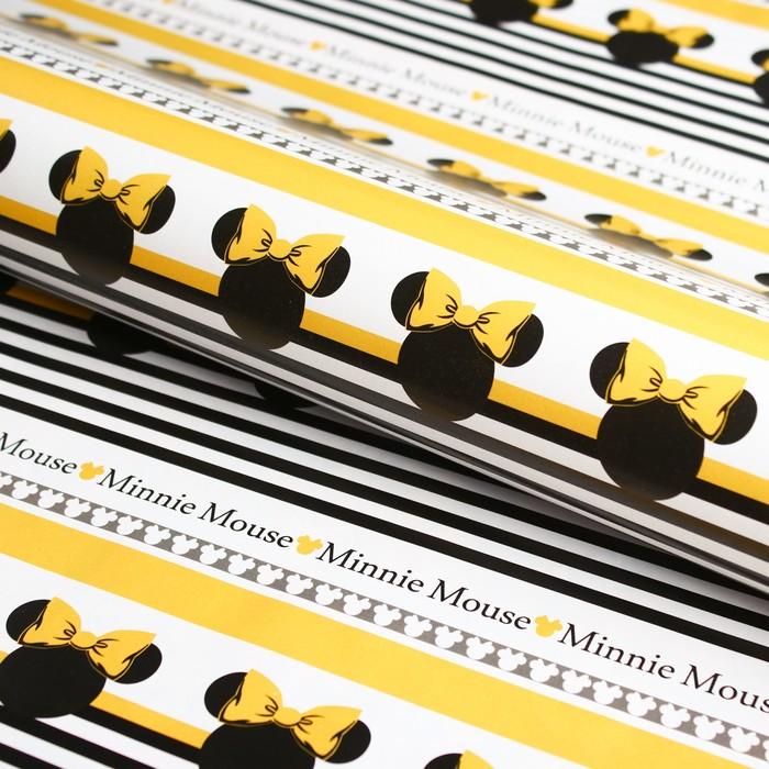 Бумага упаковочная 70х100 см, Минни Маус