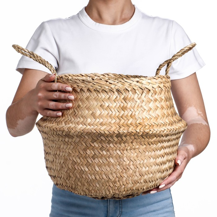 Корзина , бамбук, 35х25 см