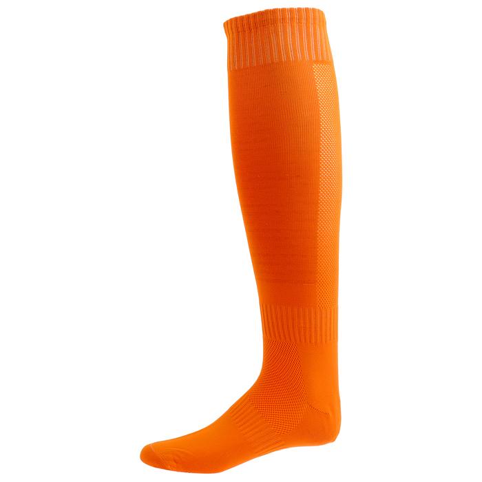 Гетры футбольные размер 37-40, цвет оранжевый