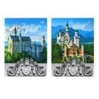 Ежедневник недатированный А6, 136 листов «Замок в Германии», твёрдая обложка, глянцевая ламинация, МИКС
