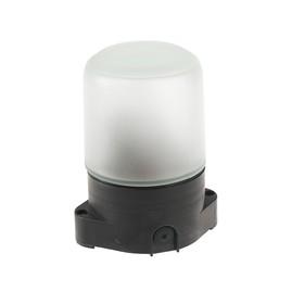 Светильник для бани/сауны ITALMAC Sauna 01 02, 60Вт, IP65, Е27, цилиндр прямой,черный +130°C