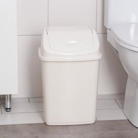 Ведро для мусора, 18 л, цвет белый