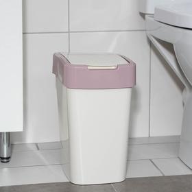 Ведро для мусора «Евро», 10 л, цвет МИКС
