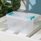 Контейнер для хранения с крышкой Smart Box, 375 мл, 12×8×7 см, цвет МИКС