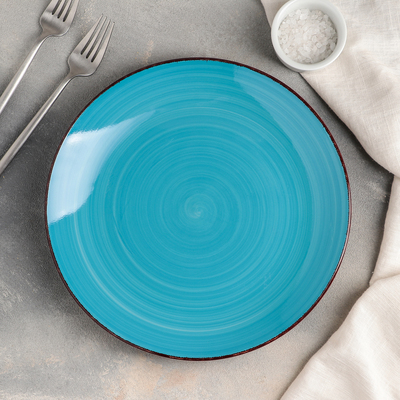 Тарелка мелкая «Яркое море», d=27 см - Фото 1