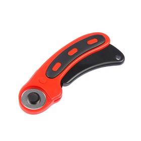 Дисковый нож пистолетного типа LOM, пластиковый корпус, лезвие-ролик, 28 мм