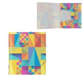 Папка на резинках А5+ пластиковая Erich Krause Arlecchino Ош
