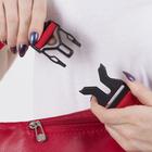 Сумка поясная, отдел на молнии, наружный карман, цвет красный - Фото 6