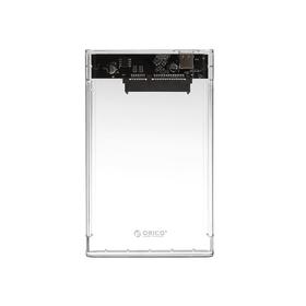 "Внешний корпус 2.5"" Orico 2139C3, USB3.1-Type C, до 5 Гбит/с, SATA, прозрачный"