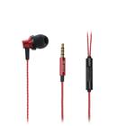 Наушники проводные Orico SOUNDPLUS-RM1-RD, вакуумные, микрофон, 16 Ом, 1.2 м, красные