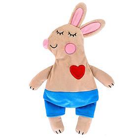 Мягкая игрушка-грелка «Зайчик» 30 см