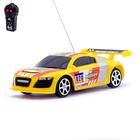 Машина радиоуправляемая «Болид», работает от батареек, цвет желтый