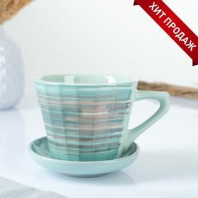 Чашка Ностальгия №2 с блюдцем 0,2л