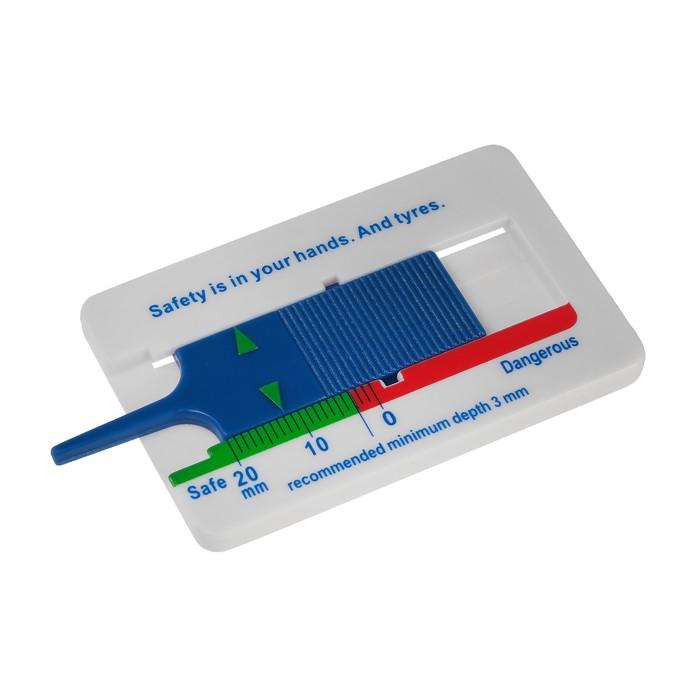 Толщиномер протектора шин, 0-20 мм