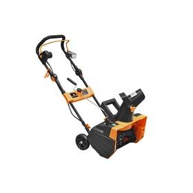Снегоуборочник CARVER STE 2346L 01.017.00011, 220 В, 2.3 кВт, 46х20 см, 6 м, LED-фара