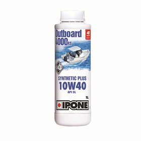 Моторное масло IPONE OUTBOARD 4000 RS, 10W40, 1л Ош