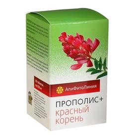 """Апифитокомплекс """"Прополис+Красный корень"""", противовоспалительный эффект, 60 т. по 0,55 г"""