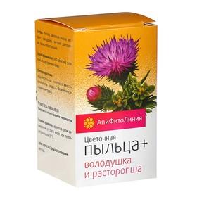 """Апифитокомплекс """"Пыльца+Володушка и Расторопша"""", защита печени, 60 т. по 0,55 г"""