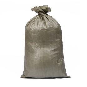 Мешок ПП, 50 × 90 см, на 40 кг, зелёный Ош