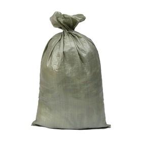 Мешок ПП, 55 × 95 см, на 50 кг, зелёный Ош