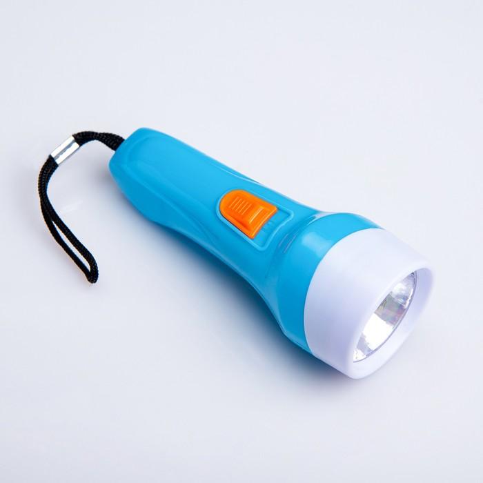 Фонарь ручной Вьюрок, 1 LED, 4х11 см, микс