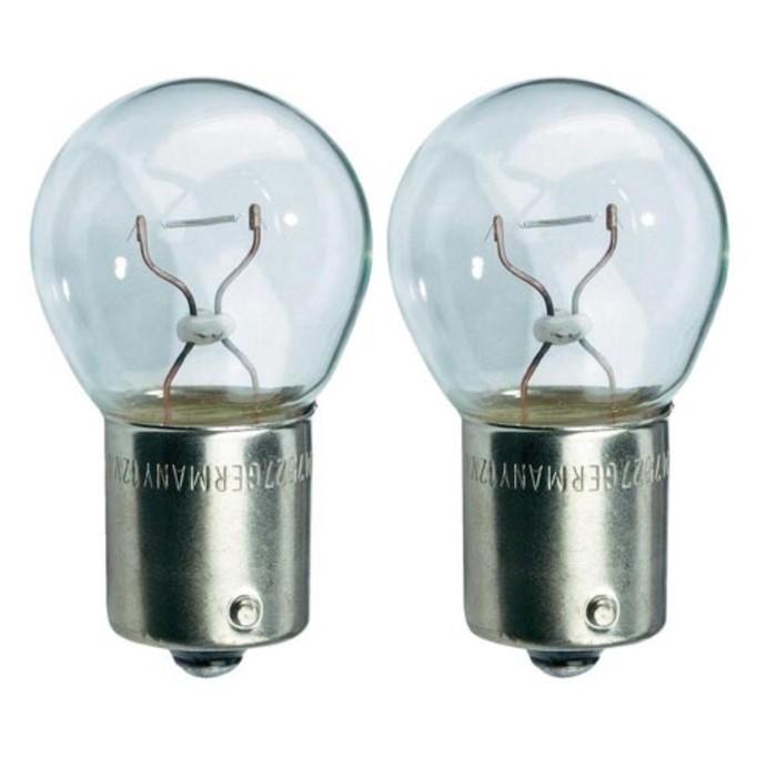 Лампа автомобильная VALEO, R10W, 12 В, 10 Вт, набор 2 шт, 32111 (кк.2)
