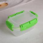 Контейнер герметичный 0,38 л, цвет зелёный