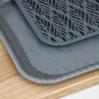 Поднос с вкладышем для сушки посуды «Колос», 45,5×36 см, цвет МИКС - Фото 3
