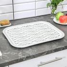 Поднос с вкладышем для сушки посуды «Колос», 45,5×36 см, цвет МИКС - Фото 7