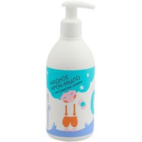 Жидкое крем-мыло детское Мир детства, с экстрактом оливы, 300 мл