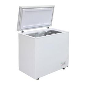 Морозильный ларь 'Бирюса' 210КХ, 200 л, 1 корзина, глухая крышка, белый Ош