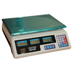 Весы торговые электронные МИДЛ МТ 30 МЖА (5/10; 34x23) «Базар» Ош