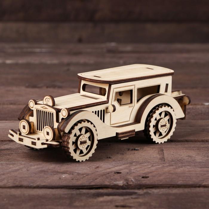 Cборная модель «Ретро Автомобиль»