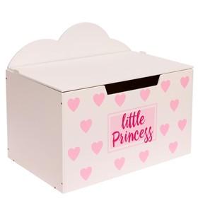 Контейнер-сундук с крышкой Little princess Ош