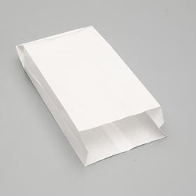 Пакет бумажный фасовочный, белый, V-образное дно, 30 х 14 х 6 см Ош