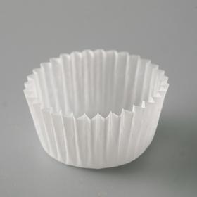 Тарталетка, белая, 2,5 х 1,6 см Ош
