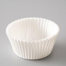Тарталетка, белая, 5 х 3 см