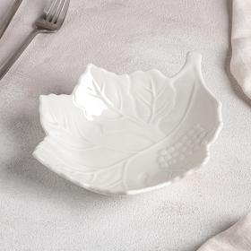 Блюдо «Листочек», 19,5×15,5×4,5 см