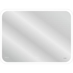 Зеркало Cersanit LED 070 DESIGN PRO 80x60, сенсор, антизапотевание, часы