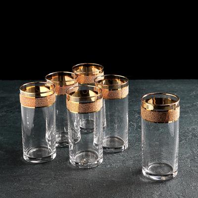 Набор стаканов «Кристалл Истанбул», 290 мл, 6 шт