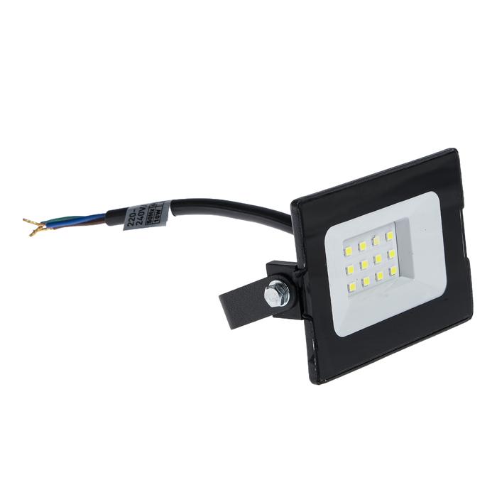 Прожектор светодиодный duwi eco, 10 Вт, 6500 К, 700 Лм, IP65