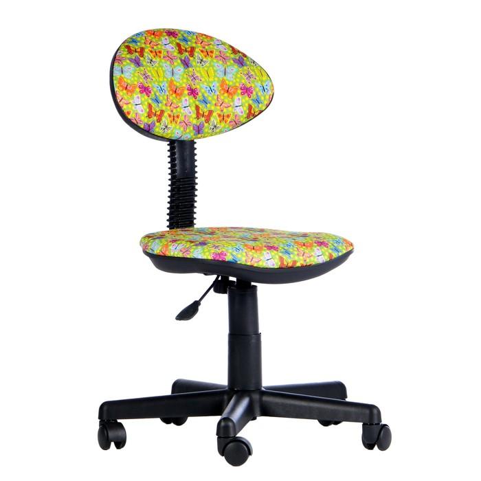 """Детское кресло """"Логика"""", желтое, без подлокотника (Т-52)"""