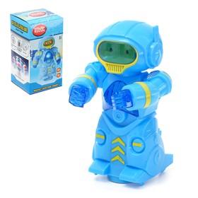 Робот «Космобот», световые и звуковые эффекты, работает от батареек, цвета МИКС Ош