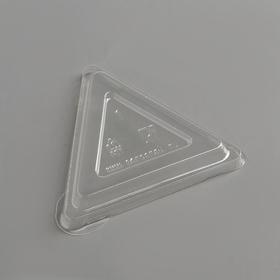 Крышка одноразовая к чашке «Треугольник», 6,7 см, прозрачная, 100 шт/уп Ош