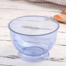 Креманка одноразовая «Кристалл», 200 мл, цвет синий, 16 шт/уп. Ош