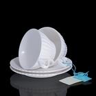 Набор: 2 чайные пары Confetteria белые, 150 мл, 17 × 17 × 15 см