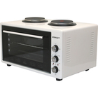 Мини-печь Zarget ZMO 3655WH, 3800 Вт, 36 л, макс. 300 °С, +2 конфорки, белая